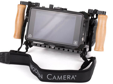 "Rent: Wooden Camera Director's Monitor 7"" Shogun SDI w Gold Mount"