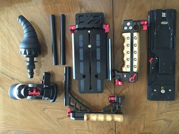 Rent: Zacuto Recoil - Universal Shoulder Rig - Red Arri DSLR BM