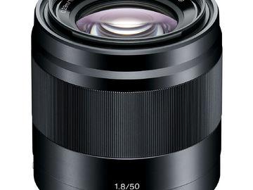 Rent: Sony E 50 mm F1.8 OSS Lense