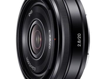 Rent: Sony E 20 mm F2.8
