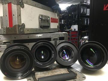 Rent: Contax / Zeiss 3 Lens Kit