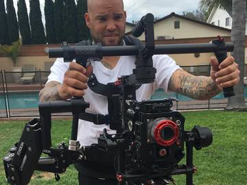 Rent: Dji Ronin W/ Steadicam Steadimate W full wireless Focus Moni