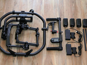 MoVI Pro Kit: 6 Batts + RED power + 3ft RED monitor cable