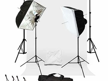 Rent: Backdrop and Lighting for Photoshoot