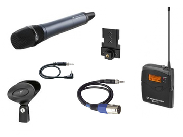 Rent: Sennheiser ew 100 G3 Wireless Handheld Microphone (gelato)