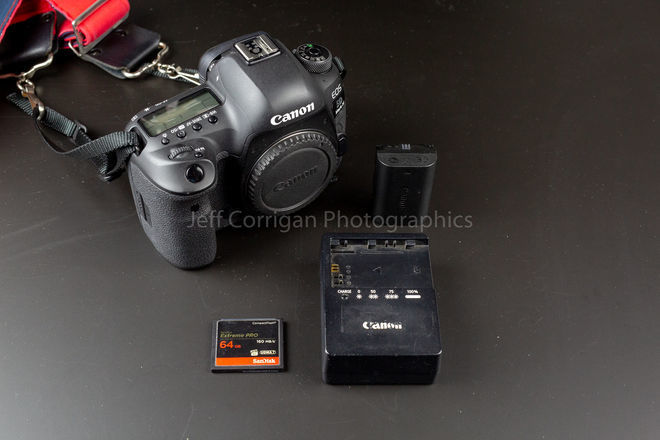 Canon EOS 5D Mark IV with C-LOG Factory Upgrade & 64GB CF