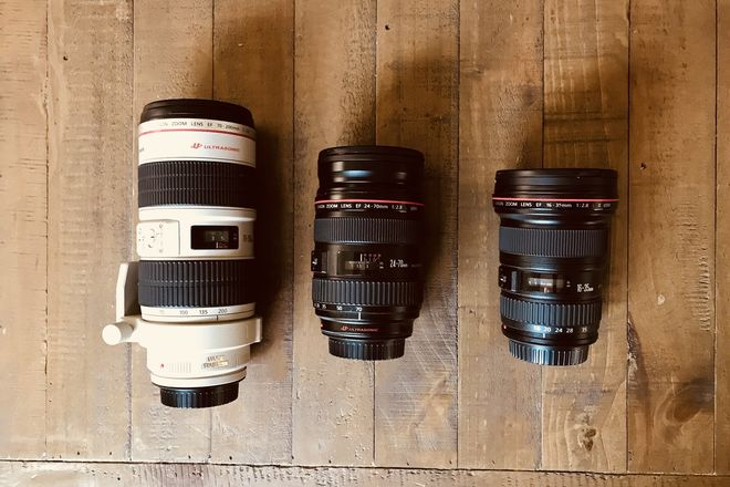 Canon L Series Zoom Kit and Filters