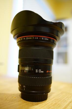 Canon 16-35mm f/2.8L Mark II