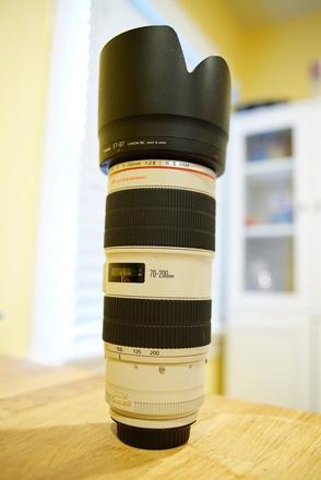 Canon 70-200mm f/2.8L II IS