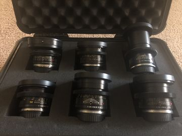 Leica R Lens Kit -Sumicron - 19,24,35,50,90,135