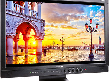 Flanders Scientific DM240 24in 10 Bit Monitor w/Field Case