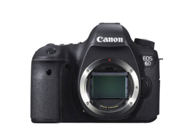 Rent: Canon EOS 6D Basic Package