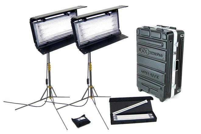 Kino Flo Diva-Lite 400 Kit 2 Lights with Case