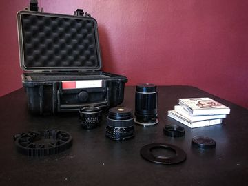 Rent: Super Takumar Vintage Lens Set