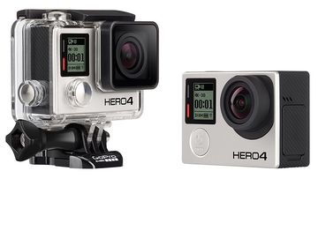 Rent: GoPro HERO4 Black 4K Extra Batteries LCD Screen Suction Cup