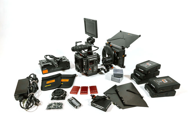 RED Weapon Helium 8K S35 (Carbon Fiber) - Full Package
