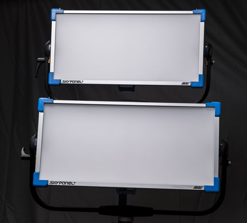 36% OFF (2) ARRI S60 SkyPanel (10) Litemat Package w/ Stands