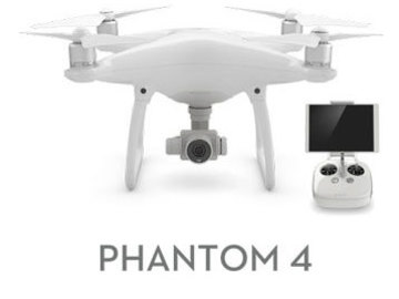 Rent: DJI phantom 4 kit - easy to use, ready to fly!