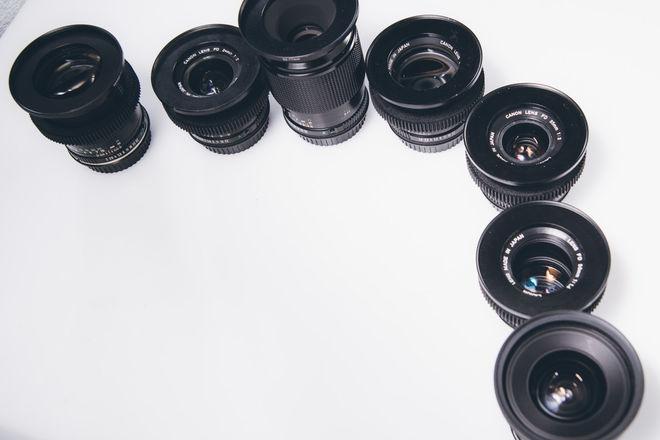Canon FD Vintage Lens Set - EF mount - Poor Man's Canon K35s