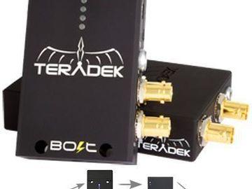 Rent: Teradek Bolt 3G-SDI Video Transceiver Set 1:1