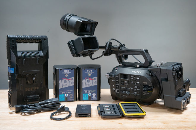 Sony FS7 - 3 Camera Interview Package