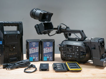 Rent: Sony FS7 - 3 Camera Interview Package