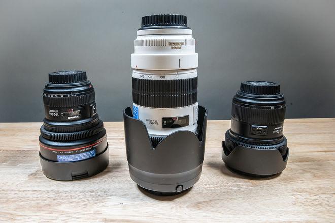 Canon Full Range Lens Kit!!!! 11-24, 24-70, 70-200