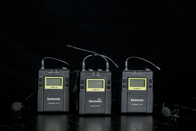 Saramonic UWMIC9 96-Channel Wireless Dual Lav Mic System