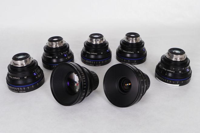 Zeiss  Compact Prime CP Lens Set (2 Lenses)