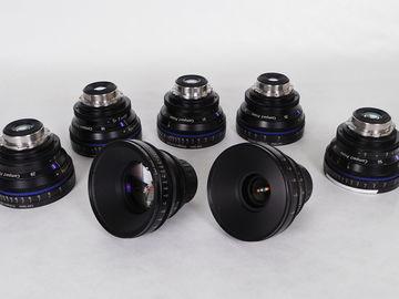Rent: Zeiss  Compact Prime CP Lens Set (2 Lenses)