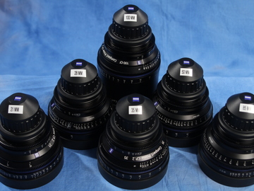 Rent: Zeiss Compact Prime 6-lens set (21,28,35,50,85,100)