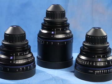 Rent: 3 Lens Zeiss CP.2 Set (21mm, 50mm, 100mm) (PL mount)