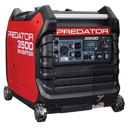 Predator Super Quiet Inverter Generator 3500 Watt