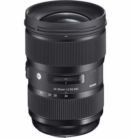 Sigma 24-35mm F2.0 EF Lens