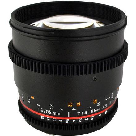 Rokinon 85mm T1.5 EF Lens