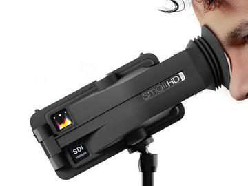 Rent: SmallHD 502 with Sidefinder (Batteries, LUTs, Arm, SDI/HDMI)