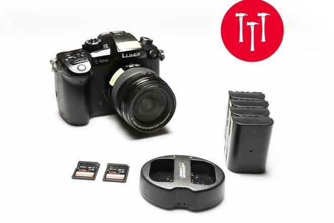 Panasonic GH5 V-Log |  | 12-35mm f/2.8 LUMIX lens | 2 128gb