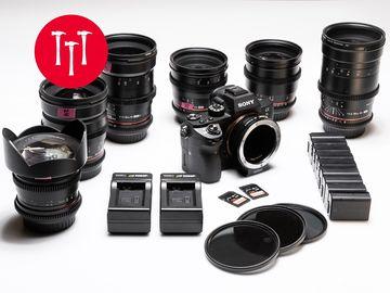 Rent: Sony Alpha a7S II  | 6-Lens Rokinon Cine-DS Lens Set
