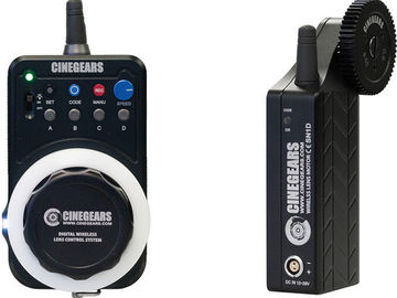 CINEGEARS Single Axis Wireless Follow Focus Kit