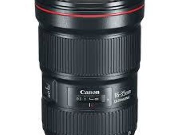 Rent: Canon EF 16-35mm f/2.8 L USM