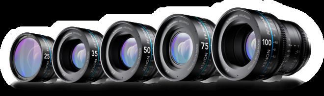 Schneider Xenon FF 5-Lens Set (EF Mount)