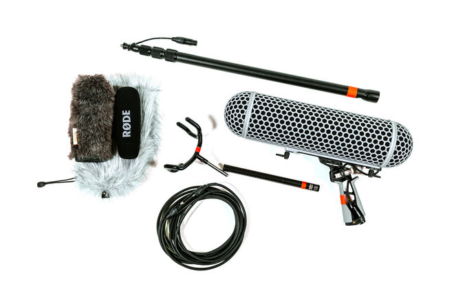 Rode NTG3 Mic Package w/ Blimp