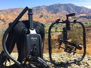 DJI Ronin M + Easy rig Serene Arm Combo 4 batts kit