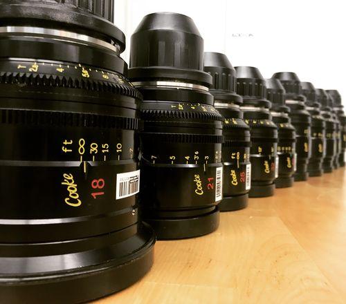 Cooke Mini S4/i Prime Lens Set (Full 10 Lens Set)