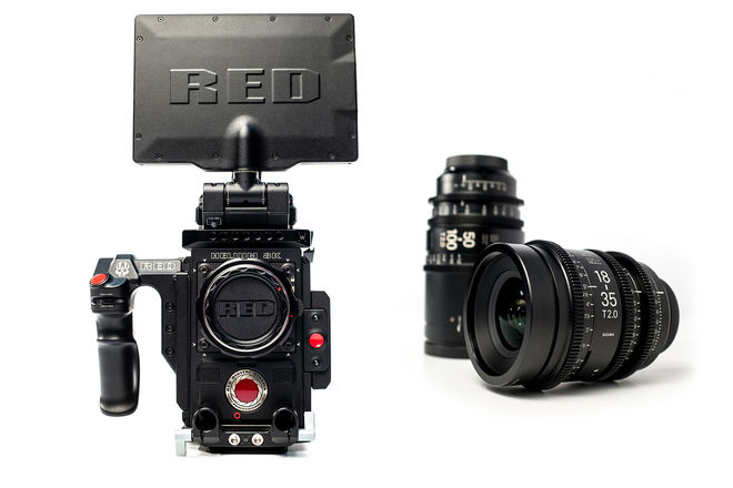 Red Weapon Helium 8k + Sigma Cine Zoom (Package)