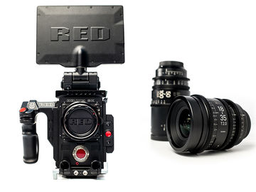 Rent: Red Weapon Helium 8k + Sigma Cine Zoom (Package)