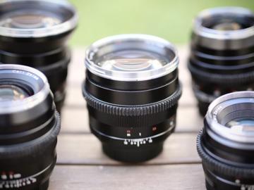 Rent: Zeiss ZE Lens Set EF Mount with cine mod (6 Lens Set!)