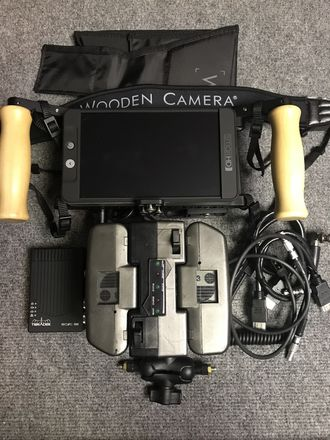 Wireless Directors Monitor: SmallHD 702 Bright + Teradeck