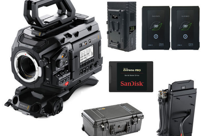 Rent a Blackmagic URSA Mini Pro Kit with SSD Recorder and Drive, Best  Prices | ShareGrid Los Angeles