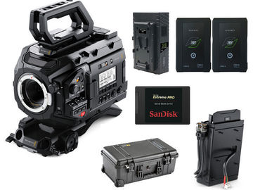 Rent: Blackmagic URSA Mini Pro Kit with SSD Recorder and Drive